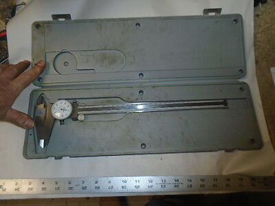 Machinist Lathe Mill Machinist Mitutoyo 12 Dial Caliper Gage Gauge 505 628