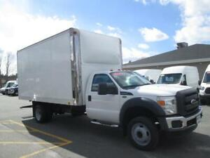 2015 Ford F550 Cab + Chassis