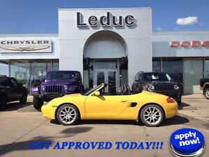 2000 Porsche Boxster Locally Owned with Manual Transmision