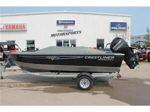 2016 Crestliner 1650 Discovery 50hp