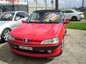 1998 Peugeot 306 N5 Red 4 Speed Automatic Cabriolet Woodbine Campbelltown Area Preview
