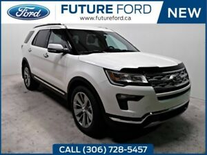 2018 Ford Explorer Limited | 3.5L V6 | 2ND ROW CAPTAIN CHAIRS