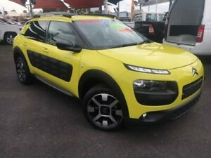 2017 Citroen C4 Cactus E3 MY18 Exclusive Hello Yellow 6 Speed Sports Automatic Wagon Bungalow Cairns City Preview