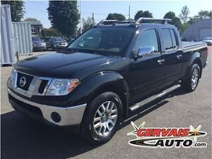 Nissan Frontier SL CREW 4x4 Cuir Toit Ouvrant A/C MAGS 2012