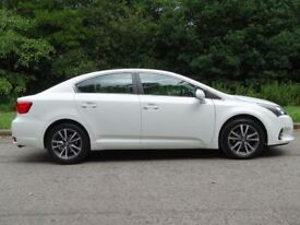 TOYOTA AVENSIS 2.0 D-4D ICON BUSINESS EDITION 4d 124 BHP (white) 2015