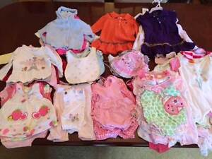 Spring Summer Baby Clothes Bundle from 3M - 12M Black Rock Bayside Area Preview