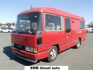1988 Toyota Coaster SWB DIESEL AUTOMATIC!!!! FULL MOTORHOME Shannon Brook Richmond Valley Preview