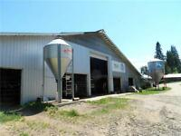 316 acre operating dairy farm with 2 Titles in Enderby