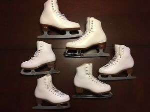 Figure skates - Jackson sizes 13 and 1.5 - Riedell TS size 5