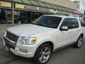 2010 Ford Explorer Limited, Extra Clean, Leather, Navi, DVD, AWD