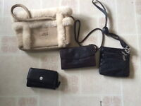 Purse collection, includes UGG, Lululemon