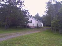 2 bedroom bungalow with a beautiful lot!