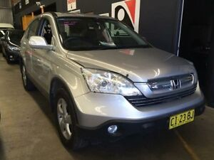 2007 Honda CR-V MY07 (4x4) Sport Silver 5 Speed Automatic Wagon Macquarie Hills Lake Macquarie Area Preview