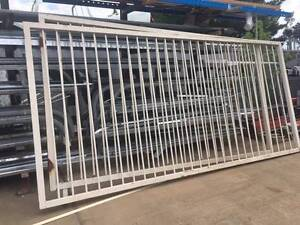 Security Steel Gate Set with Fixed Side Panels Hume Queanbeyan Area Preview