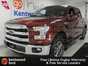 2016 Ford F-150 Lariat 4x4 with NAV, sunroof, heated/cooled powe