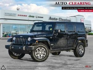 2017 Jeep Wrangler Unlimited RUBICON/LEATHER/NAV