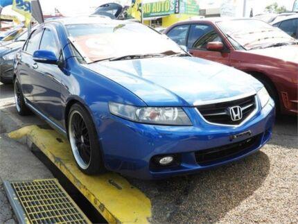 2004 Honda Accord Euro CL Luxury Metallic Blue Automatic Sedan Minchinbury Blacktown Area Preview