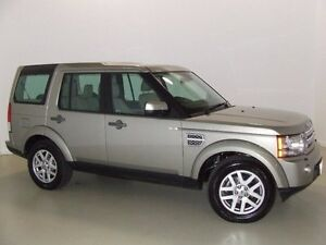 2012 Land Rover Discovery 4 Series 4 MY12 TdV6 CommandShift Gold 6 Speed Sports Automatic Wagon Mansfield Brisbane South East Preview