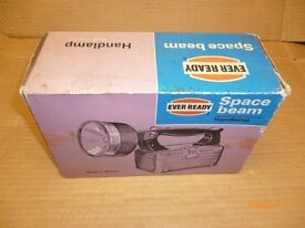 Ever Ready Space Beam Torch Vintage