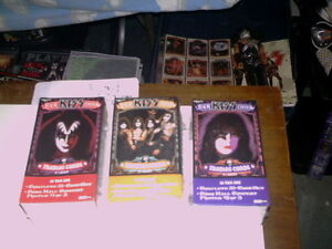 Sealed Kiss Trading Card and Poster set