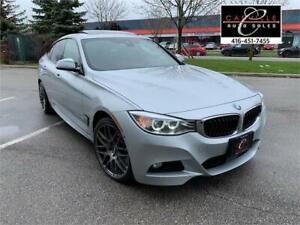 2014 BMW 335i  GT M-PKG RED LEATHER HUD NAVI CAM PANO LANE ASIST
