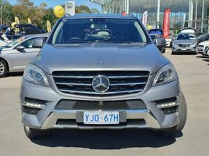 2013 Mercedes-Benz M-Class W166 ML350 BlueTEC 7G-Tronic + Grey 7 Speed Sports Automatic Wagon Phillip Woden Valley Preview
