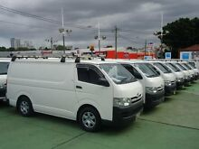 2009 Toyota Hiace TRH201R MY07 Upgrade LWB White 4 Speed Automatic Van Canada Bay Canada Bay Area Preview