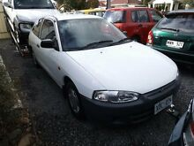 2003 Mitsubishi Mirage CE White 5 Speed Manual Hatchback Park Holme Marion Area Preview