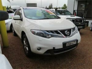 2012 Nissan Murano Z51 Series 3 TI White 6 Speed Constant Variable Wagon Minchinbury Blacktown Area Preview