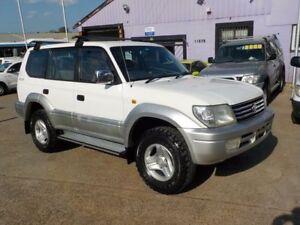 2000 Toyota Landcruiser Prado VZJ95R VX White 4 Speed Automatic Wagon North St Marys Penrith Area Preview