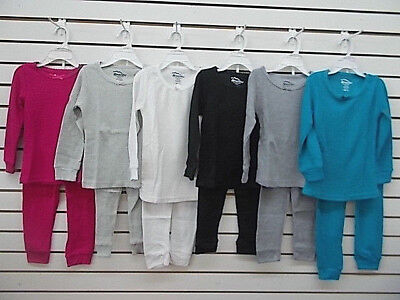 Girls Snozu $18 Assorted Colors Thermal Underwear / Pajamas Size 4 - 6X