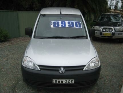 2010 Holden Combo XC MY10 Silver 5 Speed Manual Van Tuncurry Great Lakes Area Preview