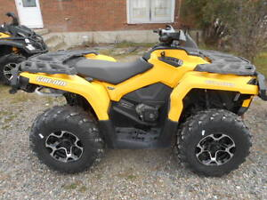 NEW 2014 CAN AM OUTLANDER XT 650  BLOW OUT SALE  $10000