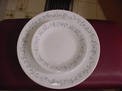 "18 pc Corelle ""Country Cottage"" Dinner (12) & Dessert Bread Salad (6) Plates"
