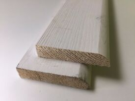 timber pencil round effect skirting boards 1.8m lengths 70x15mm