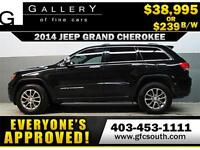 2014 JEEP GRAND CHEROKEE *EVERYONE APPROVED* $0 DOWN $239/BW!