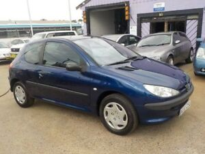 2004 Peugeot 206 T1 MY03 XR S Blue 5 Speed Manual Hatchback North St Marys Penrith Area Preview