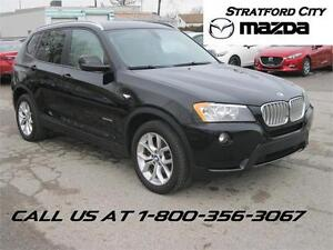 2013 BMW X3 X-DRIVE NEW TIRES! NEW BRAKES!