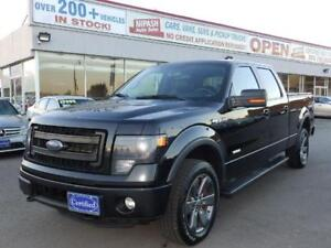 2014 Ford F-150 FX4,NAVI,CAMERA,LEATHER,NO ACCIDENTS,1-OWNER