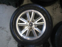 V6 Mustang rims and tires