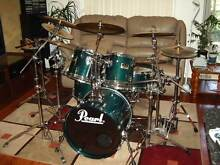 Pearl Session Series Professional Drum Kit-Great Sound Wollongong Wollongong Area Preview
