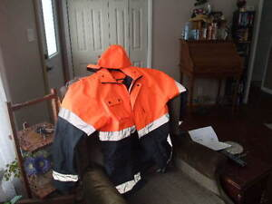 High Visibility Men's Coat (sz - large) London Ontario image 1