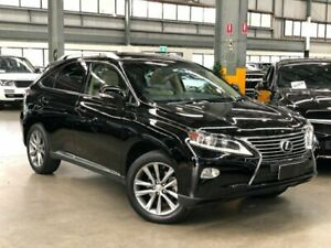 2013 Lexus RX270 AGL10R Wagon 5dr Spts Auto 6sp, 2.7i Black Sports Automatic Wagon Port Melbourne Port Phillip Preview