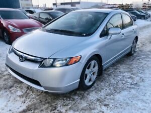 2007 Honda Civic Sdn (6 MONTH WARRANTY)(CLEAN CARPROOF)(ONE OWNE