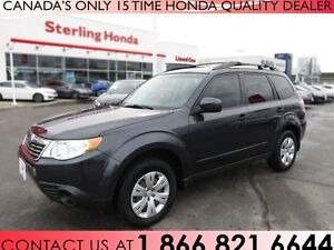 2010 Subaru Forester 2.5 X 4DR ALL WHEEL DRIVE | 1 OWNER !!