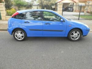 2002 Ford Focus LR MY2003 Zetec Blue 4 Speed Automatic Hatchback Broadview Port Adelaide Area Preview