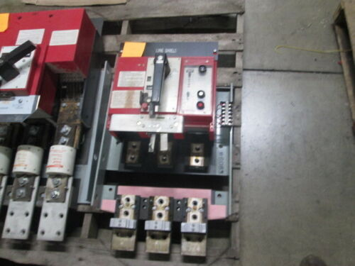 Thpr3612g3t Ge Hpc Switch 1200a W/ Ground Fault Used E-ok