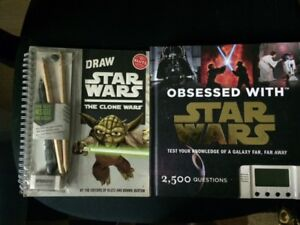 Star Wars Obsessed book; Star Wars drawing book