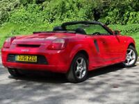 TOYOTA MR2 1.8 ROADSTER 2d 138 BHP (red) 2001
