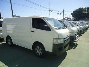 2006 Toyota Hiace TRH201R LWB White 4 Speed Automatic Van Canada Bay Canada Bay Area Preview